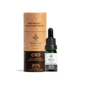 Natural Health Goods Full Spectrum 2000mg CBD Oil 10ml
