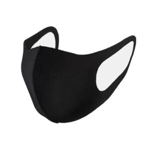Reusable Anti Dust Black Face Mask
