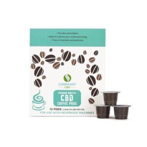 Canniant 30mg CBD Nespresso Coffee Pods – Pack of 12