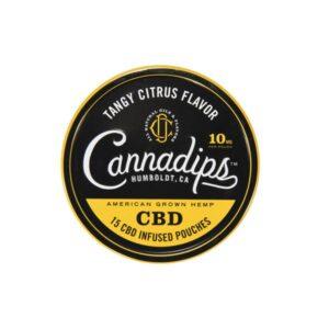 Cannadips 150mg CBD Snus Pouches – Tangy Citrus