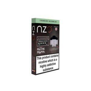 NZO 10mg Salt Cartridges with Pacha Mama Nic Salt (50VG/50PG)