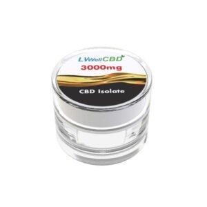 LVWell CBD 99%  Isolate 3000mg CBD