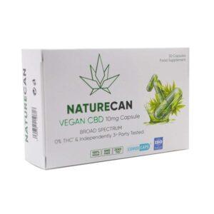 Naturecan 10mg Vegan CBD Capsules – 30 Caps
