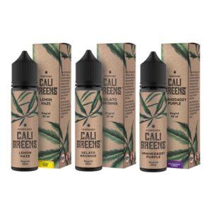 Terpenes Cali Greens 50ml Shortfill E-Liquid (70VG/30PG)