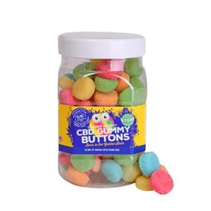 Orange County CBD 10mg Gummy Buttons – Large Pack