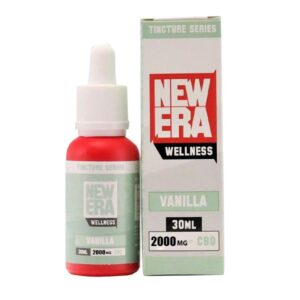 New Era Wellness 2000mg CBD Tincture Series 30ml