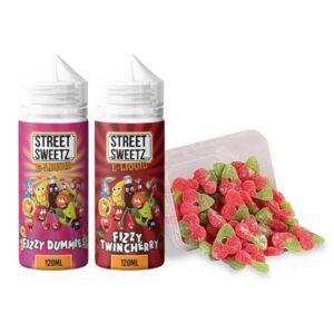 Street Sweetz 0mg 100ml Shortfill + 210g Jelly Sweets Combo