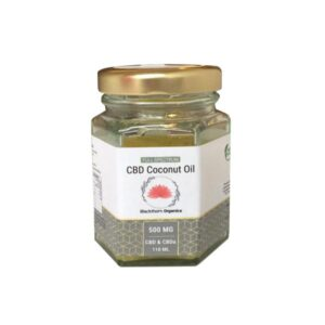 Blackthorn Organics 500mg CBD Coconut Oil 110ml