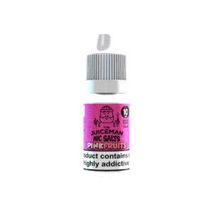 20mg The Juiceman 10ml Flavoured Nic Salt (50VG/50PG)