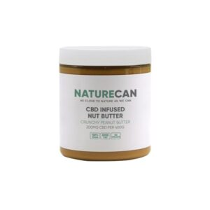 Naturecan 200mg CBD 400g Nut Butter Crunchy Peanut Butter