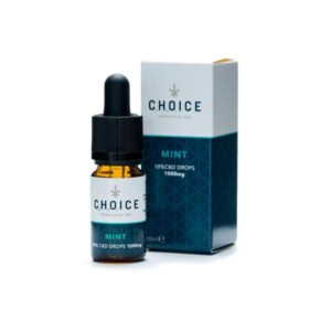 Choice 1000mg CBD Mint Oil Drops 10ml