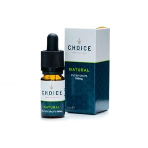 Choice 1000mg CBD Natural Oil Drops 10ml