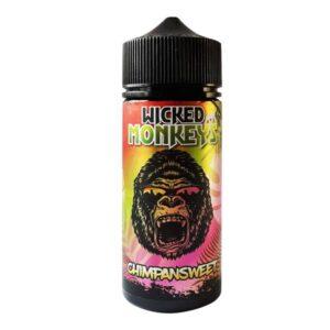 Wicked Monkeys 100ml Shortfill 0mg (70VG/30PG)