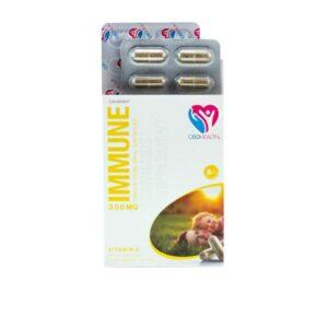 Canabidol 300mg CBD Oral Capsules 30 Caps – Immune