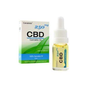 Canabidol 250mg CBD Cannabis Oil Drops 10ml