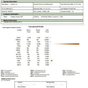 Orange County CBD Cali Range 1500mg CBD 50ml E-liquid (60VG/40PG)