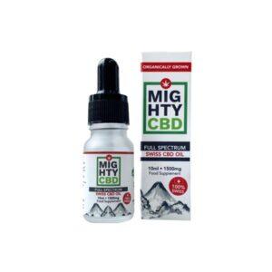 Mighty CBD 1500mg Full Spectrum Swiss CBD Oil 10ml