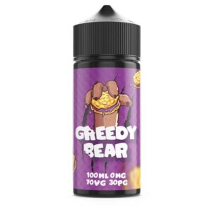 Greedy Bear 100ml Shortfill 0mg (70VG/30PG)