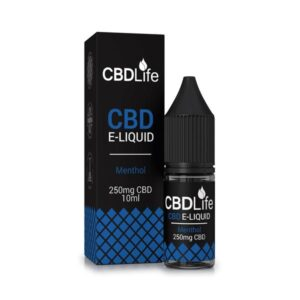 CBDLife 250mg CBD 10ml E-Liquid (70VG/30PG)