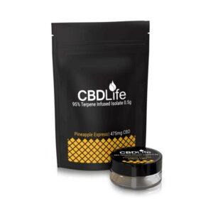 CBDLife 95% CBD Terpene Infused Isolate 0.5g
