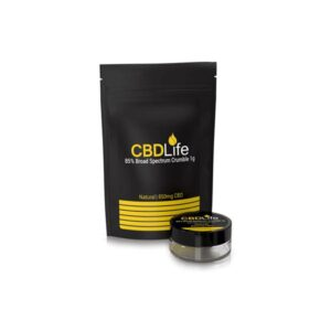 CBDLife 850mg CBD Broad Spectrum Crumble 1g