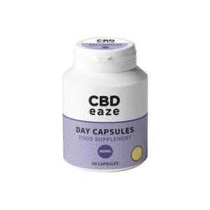 CBDeaze 600mg CBD Day Capsules – 60 Capsules