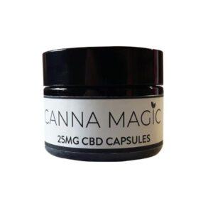 Canna Magic 25mg CBD Capsules