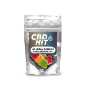 CBD Hit 100mg CBD Vegan Gummies 50g
