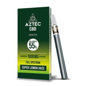 Aztec CBD 1000mg Vape Kit – 1ml