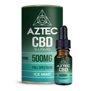 Aztec CBD 500mg CBD Vaping Liquid 10ml (50PG/50VG)