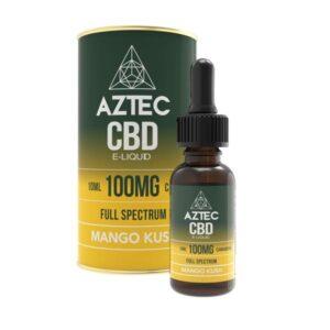 Aztec CBD 100mg CBD Vaping Liquid 10ml (50PG/50VG)