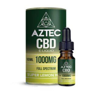 Aztec CBD 1000mg CBD Vaping Liquid 10ml (50PG/50VG)