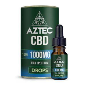 Aztec CBD Full Spectrum Hemp Oil 1000mg CBD 10ml