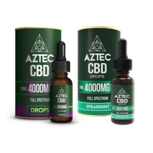 Aztec CBD Full Spectrum Hemp Oil 4000mg CBD 10ml