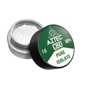 Aztec CBD Isolate 90% 1000mg CBD – 1g
