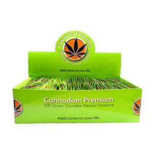 Cannadom Premium Cannabis Flavour Condoms