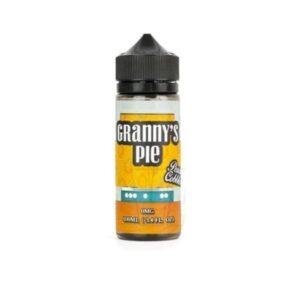 Grannys Pie Peach Cobbler 0mg 100ml Shortfill  (70VG-30PG)