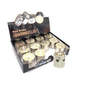 12 x 3 Parts Handmuller Silver Bullet Metal 40mm Grinder – HX240
