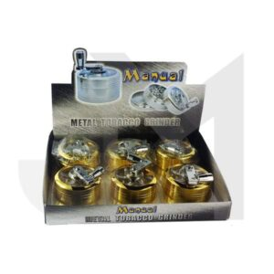 3 Parts Manual Metal Grinder 50mm Gold Coated – HX085SY-3G