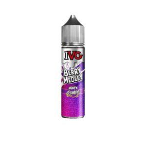 I VG Juicy Range 50ml Shortfill 0mg (70VG/30PG)