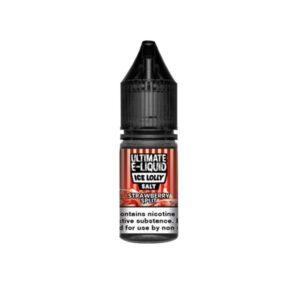 10mg Ultimate E-liquid Ice Lolly Nic Salts 10ml (50VG/50PG)