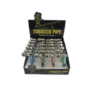Iron Hammer Model Metal Smoking Pipe – 8CM – HX255J