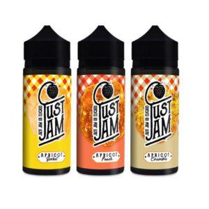 Just Jam Apricot 0mg 100ml Shortfill (70VG/30PG)