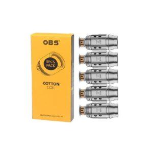 OBS Cube Mini S1 Mesh Coil – 0.6 Ohm