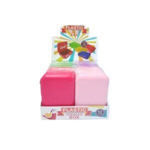 12 x Plastic Standard Multi-Colour Rolling Storage Box – FG600