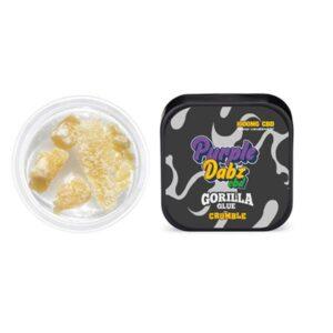 Purple Dabz CBD 1000mg CBD Crumble – Gorilla Glue