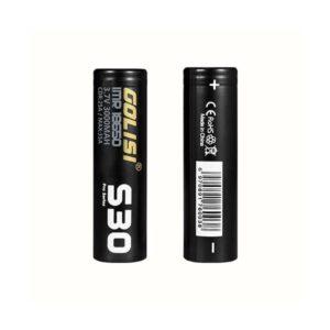 Golisi S30 18650 Battery 3000mAh 25A