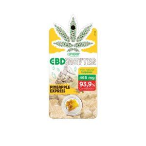 Euphoria 465mg CBD Shatter Pineapple Express 0.5g