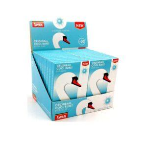 20 Swan Crushball Cool Burst Extra Slim Filter Tips