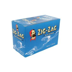100 Zig-Zag Blue Regular Size Rolling Papers